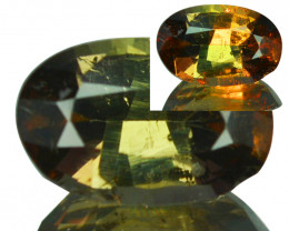 ~RAREST~ 1.35 Cts Natural Axinite Color Change Oval Cut Afghanistan