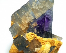 Amazing Natural color Damage free Lovely Fluorite specimen 295Cts-P