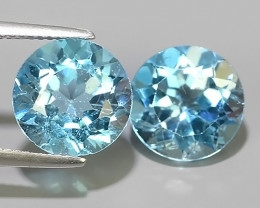 12.20 CTS  GENUINE NATURAL ULTRA RARE LUSTER SKY BLUE TOPAZ GEM!!