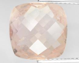 4.35 Cts Amazing Rare Natural Pink Color Morganite Gemstone