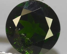 1.35 CTS NATURAL ULTRA RARE CHROME GREEN DIOPSIDE  RUSSIA NR!!