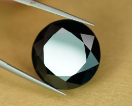 HUUUUGE! 32CT+ 21mm ROUND NATURAL BLACK SPINEL $1NR!