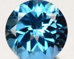 2.85 Carat  Swiss Blue Natural Topaz Gemstone