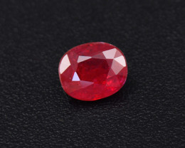 Certified, Natural Royal Red 0.86ct Ruby (01746)