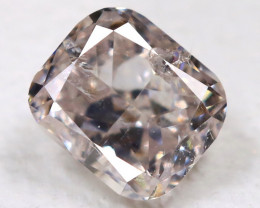 Peach Pink Diamond 0.14Ct Natural Untreated Fancy Diamond BM0906