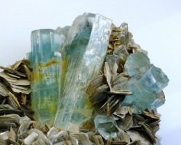 3.0 KG Natural - Unheated Blue Aquamarine Mineral Specimen