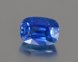 Fine Blue Sapphire - Cushion 7.15ct - GRS Certified - SriLanka