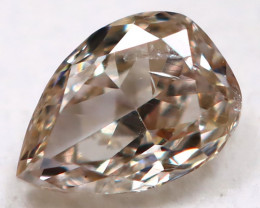 Champagne Pink Diamond 3.2mm Natural Untreated Fancy Diamond BM0988