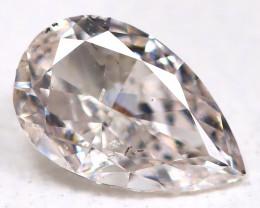 Peach Pink Diamond 0.19Ct Natural Untreated Fancy Diamond BM0947