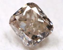 Champagne Pink Diamond 2.4mm Natural Untreated Fancy Diamond BM0951