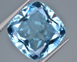 Natural Blue Topaz  13.72 Cts Top Quality