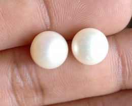 PEARL PAIR 8mm Genuine Fresh Water Pearl VA93