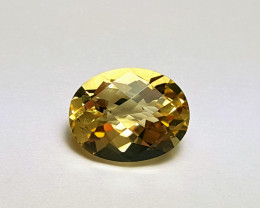 Amazing Natural color Eye clean Citrine stone 1.75 Cts-A