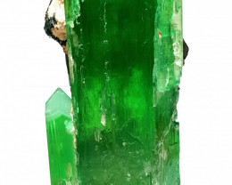 Amazing Top Quality good color , Gemmy DT Hiddenite combine with Tourmaline