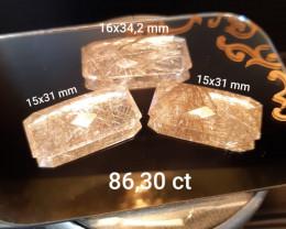 86.3 ct Quartz gemstones Gemural
