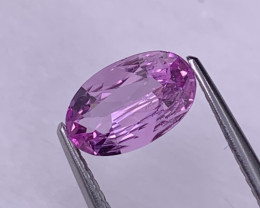 1.28 Cts Top Quality Hot Pink Unheated/Untreated Natural Sapphire