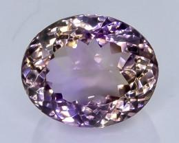 14.87 Crt Natural Ametrine Faceted Gemstone.( AB 26)