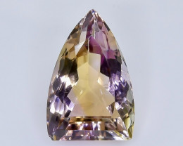 13.94 Crt Natural Ametrine  Faceted Gemstone.( AB 26)