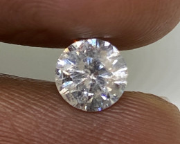 (6) Cert Stunning $2232 0.88cts SI2 Nat Round White Loose Diamond