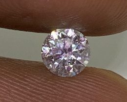 (8) Cert $864 Gorgeous  0.47cts SI1 Nat White Round Loose Diamond