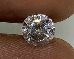 (11) Cert $1070 Precious  0.64cts SI2 Nat  White Round Loose Diamond