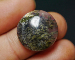 14.15 CT UNTREATED Beautiful Indonesian Moss Agate Picture