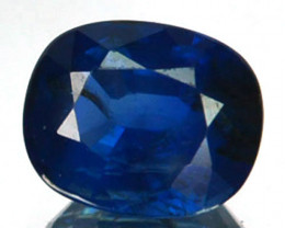 ~UNHEATED~ 1.12 Cts Natural Sapphire Beautiful Deep Blue Oval Madagascar