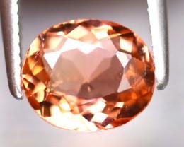 Tourmaline 1.20Ct Natural Orange Tourmaline EF1817/B19