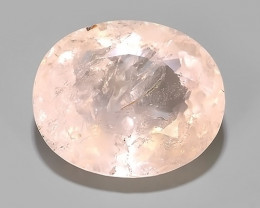 18.60 CTS EXCELLENT NATURAL LUSTER-PEACH PINK MORGANITE GEM!!