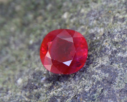 Natural, Certified 1.10ct Royal Red Ruby (01742)