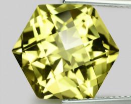 11.18 Cts  Natural Lemon Quartz Gemstonestone