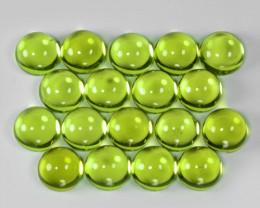 12.06 Cts 18 pcs Green Color Natural BURMA Peridot Gemstone