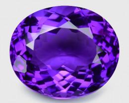 14.40 Cts  Natural Purple Amethyst Loose Gemstone