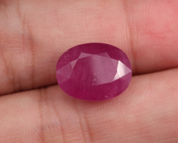 12.3ct Natural Faceted Ruby  **Earth-Mined**