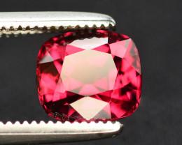 Rarest 1.65 Ct Malawi Raspberry Pink Umbalite Garnet From Tanzania