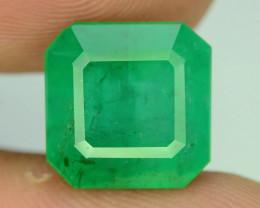 Certified Top Color & Clarity 7.51 ct Emerald~Afghanistan