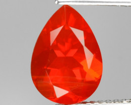 2.01 Cts Very Rare Unheated Mexican Fire Opal Loose Gemstone