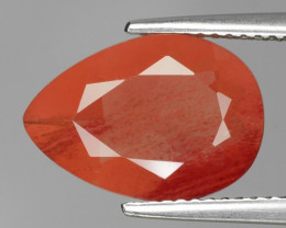4.24 Cts Amazing Rare Natural Red Color Andesine