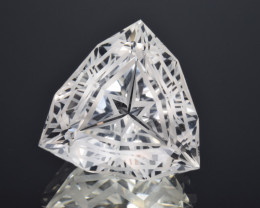 Natural Topaz 22.09 Cts Perfect Precision Cut , Outstanding Design