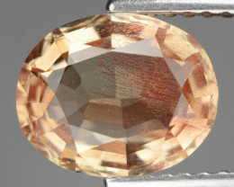 1.73 Cts Rare Oregon Sunstone Awesome Color ~ SS7