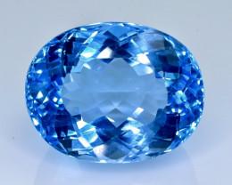 45.50 Crt Topaz  Faceted Gemstone (Rk-1)