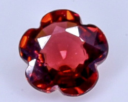0.86 Crt  Grape Garnet Faceted Gemstone (Rk-1)