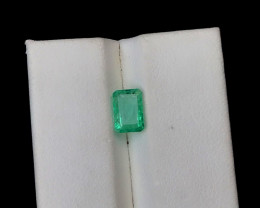1.15 Carats Natural Colombian Emerald Gemstone