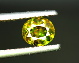 Sphene Titanite, 1.25 CT Natural Full Fire Sphene Titanite Gemstone