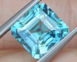 4.14cts Blue Zircon from Cambodia