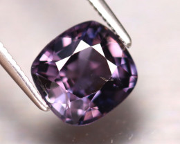 Spinel 2.53Ct Mogok Spinel Natural Burmese Titanium Purple Spinel DF1911/A1