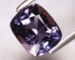 Spinel 2.68Ct Mogok Spinel Natural Burmese Titanium Purple Spinel DF1915/A1