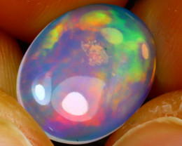 Welo Opal 1.40Ct Natural Ethiopian Play of Color Opal DF1916/A28