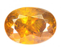3.50 Cts Marvelous Natural Rare Top Rich Fired Sunset Orange Sphalerite