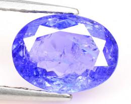 1.35 Cts Amazing rare Violet Blue Color Natural Tanzanite Gemstone